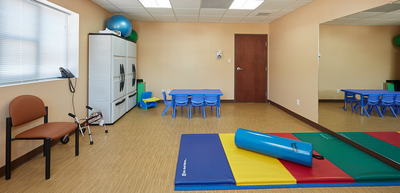 Partners 4Kids Physical Therapy Room