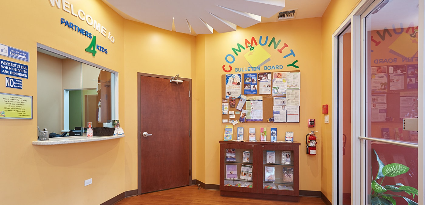 Partners 4Kids Reception Area