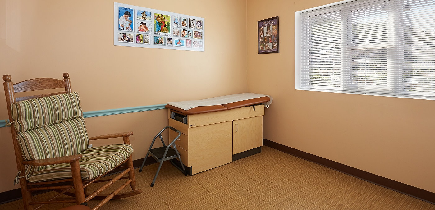 Partners 4Kids Exam Room