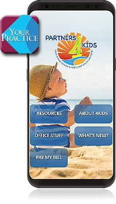 Partners 4Kids Mobile App