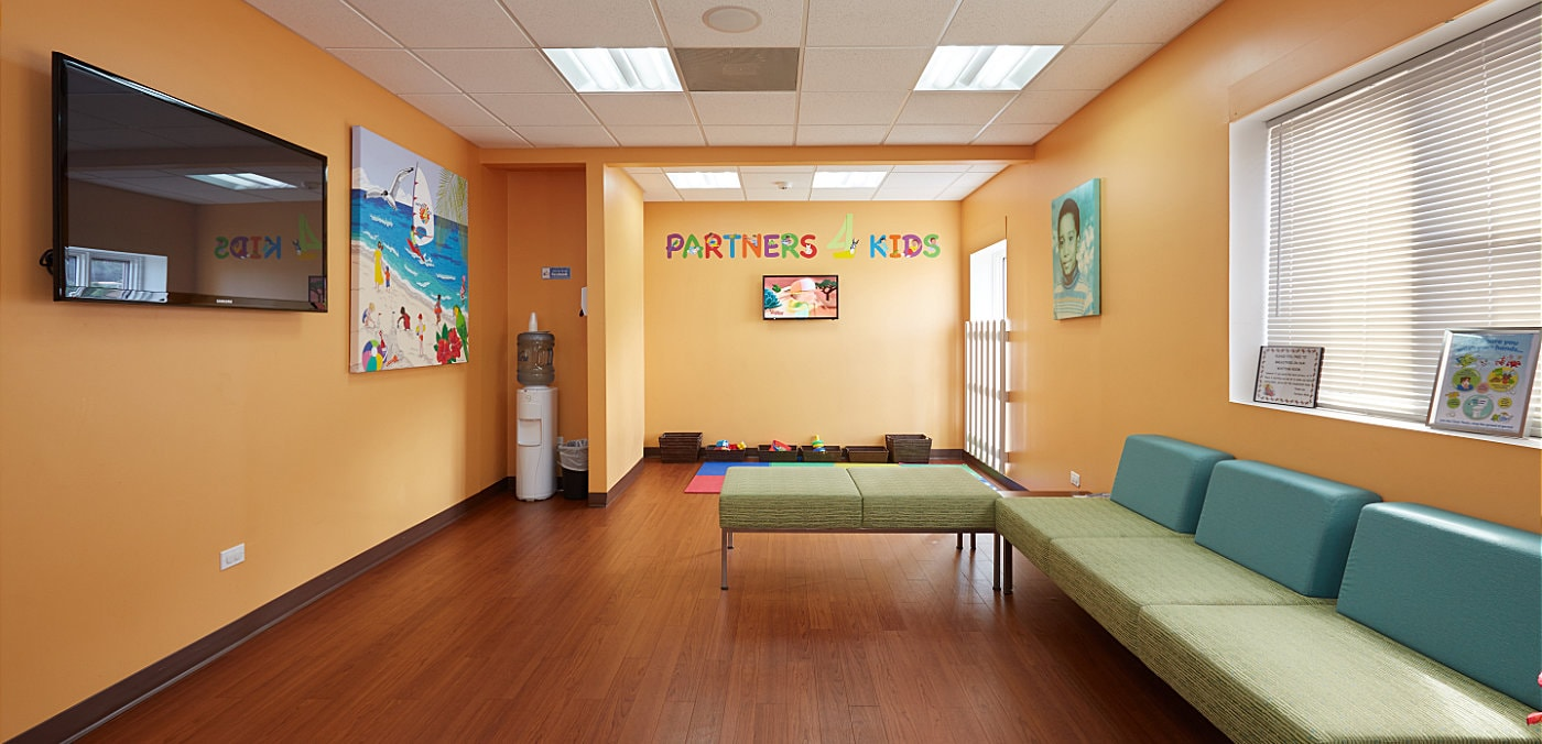 Partners 4Kids Waiting Area